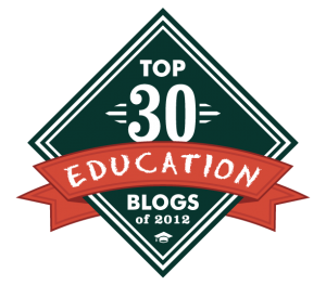 Best Education Blogs 2012